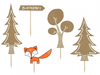 Toppery PartyDeco - Woodland Mix.